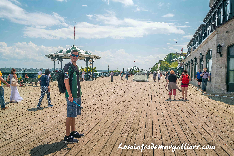 Les Glissades de la Terrasse , Que ver en Quebec - Los viajes de Margalliver